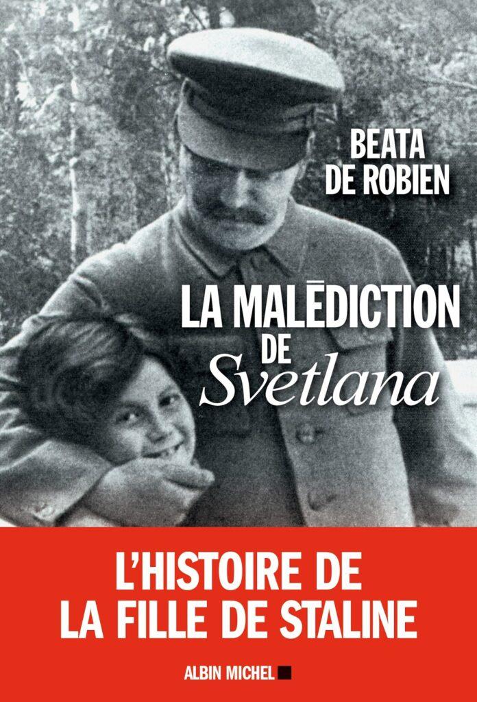 Couverture livre La Malédiction de Svetlana Allilouïeva