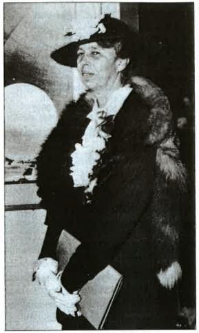 Eleanor Roosevelt en 1939.